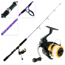 Shimano FX 2500 FC Kidstix Purple Kids Combo 3ft 5in 3-5kg 1pc
