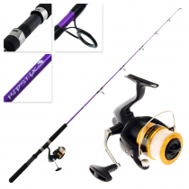 Shimano FX 4000 FC Kidstix Purple Kids Combo 5ft 5in 4-6kg 1pc
