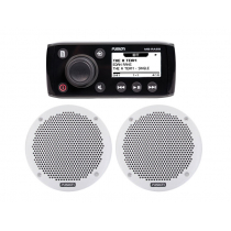 Fusion MS-RA55 Marine Stereo Package with 6'' Speakers
