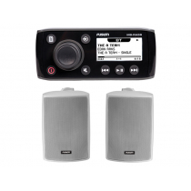 Fusion MS-RA55 Compact Bluetooth Marine Stereo Package