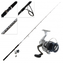 Shimano Nexave 4000FE and Catana Spinnning Softbait Combo 6ft 3in 5-8kg 2pc