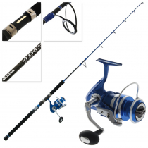 Okuma Azores Blue 5500 Jig Spin Combo 5ft 2in 100-250g 1pc