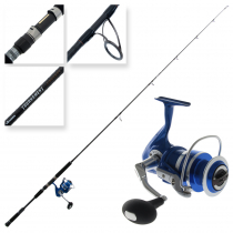 Okuma Azores Blue 6500 and Tournament Concept Light Stickbait Combo 7ft 9in PE4-6 2pc