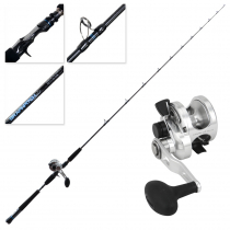 Okuma Cavalla 5 4BB CD Rods Graphpitch Slow Jig Combo 6ft 3in PE 1-2 1pc