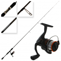 Okuma Fina Pro 30 and Tournament Concept Spin Combo with Line 7ft 4pc