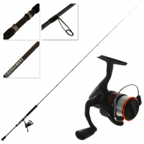 Okuma Fina Pro 30 and Tournament Concept Combo with Line 7ft 9in 2-5kg 2pc