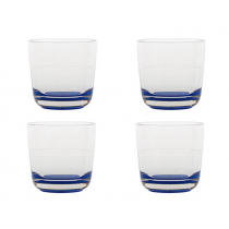 Marc Newson Klein Blue Unbreakable Whisky Glass Set of 4