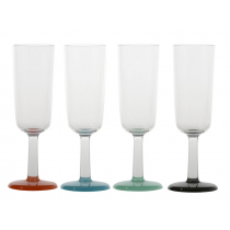 Marc Newson Unbreakable Champagne Glass Set of 4