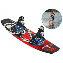 Ron Marks Mission and FTR Pro Medium Wakeboard Package