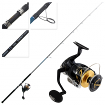 Shimano Stella 18000 SW HGC Energy Concept Topwater Combo 8ft 3in PE3-6 2pc