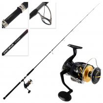 Shimano Stella 18000 SW HGC Ocea Plugger Full Throttle S83H Topwater Combo 8ft 3in PE8 2pc