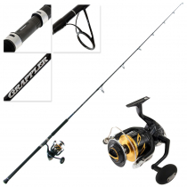 Shimano Stella 20000 SW PGC Grappler Type C S82H Spinning Topwater Combo 8ft 2in PE8 2pc
