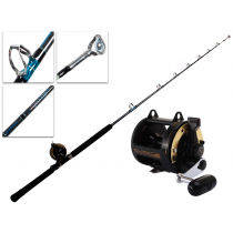 Shimano TLD 25 and Aquatip Roller Tip Rod and Reel Combo