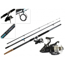 Shimano Baitrunner 12000 OC and Aquatip Surfcasting Combo 14ft 6-12kg 3pc
