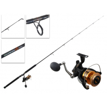 Shimano 8000D Baitrunner and Backbone Elite Strayline Combo 7ft 6-10kg 1pc