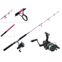 Shimano IX 2000 Kidstix Pink Spinning Kids Combo with Line 3ft 4in 3-6kg 1pc