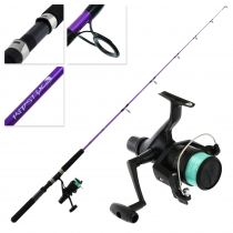 Shimano IX 4000 Kidstix Purple Kids Combo 5ft 5in 4-6kg 1pc