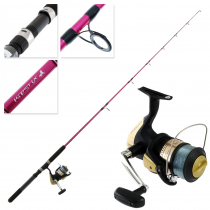 Shimano Hyperloop 6000 FB Kidstix 2019 Pink Kids Combo 6ft 8-12kg 1pc