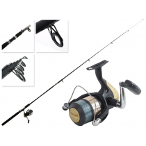 Shimano Hyperloop 6000 FB and Eclipse Telescopic Surfcasting Combo 12ft 1pc