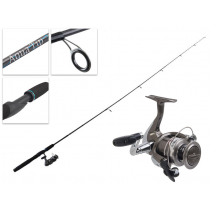 """Shimano Syncopate 2500 FG and Aquatip Trout Spinning Combo 6'6"""" 2-5kg 4pc"""
