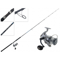 Shimano Saragosa 8000 SWHG and Energy Concept Spin Topwater Combo 8' 40-70g PE2-4 2pc