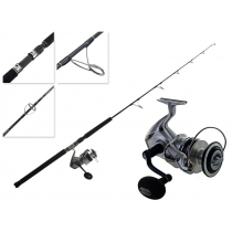 Shimano Saragosa 10000 SW and Energy Concept Spin Jigging Combo 5ft PE2-4 2pc