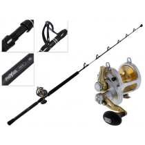 Shimano Talica 25 2-Speed and Abyss SW Stand Up Game Combo 5'2'' 50lb
