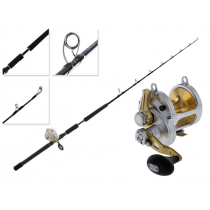 Shimano Talica 25 2-Speed and T-Curve Ocea Switchbait Game Combo 6ft 3in 24-37kg 1pc