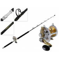 Shimano Talica 25 and Tiagra Stand Up 2-Speed Game Combo 5ft 6in 24kg 1pc