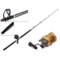 Shimano Tiagra 50 A and Backbone Elite Roller Tip Game Combo 5ft 7in 24kg 1pc