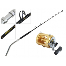 Shimano Tiagra 80 WA Stand Up Bent Butt Game Combo 5ft 6in 24-37kg 1pc