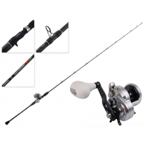 Shimano Trinidad 12 A and Backbone Elite Slow Jig Combo 6ft 8in 15-20lbs 1pc