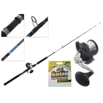 Shimano Torium 16A HG and Vortex OH Jigging Combo with Braid 5ft 5in 15-24kg 1pc