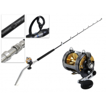 Shimano Tyrnos 30 and Status Detachable Bent Butt Game Combo 5ft 6in 50-80lb 2pc