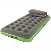 PAVILLO Roll and Relax Twin Airbed Grey/Green