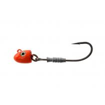 Berkley Nitro Elevator Rigged Jig Heads 5/0 1/2oz 14g Orange Qty 2