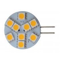 9 LED G4 Bulb with Side Pin Warm White