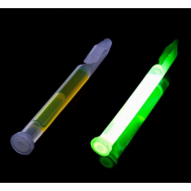 ManTackle Deep Sea Glow Stick with Clip 4in Green