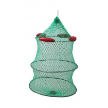Live Bait Stainless Cage with Floats 45 x 55cm