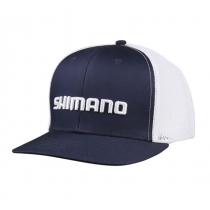 Shimano Corporate Trucker Cap Navy/White