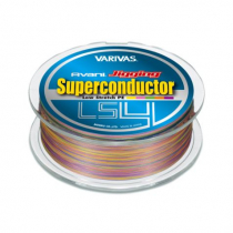 Varivas Avani Jigging Superconductor LS4PE Multi-Colour Braid 300m