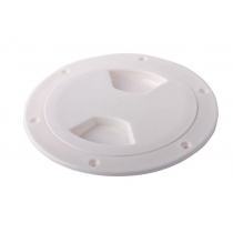 Waterproof ABS Inspection Hatch White 127mm