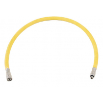Dive Regulator Rubber Hose Yellow 27in