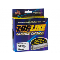TUF-Line Guides Choice Hollow Braid 750yd 130lb White
