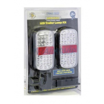 Trailparts LED Trailer Lights Submersible Tail-Lamp Kit
