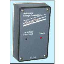 CruzPro CC-35 3-Stage PWM Charge Regulator Automatic Low Voltage Disconnect 8A