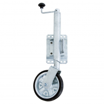 Galvanised Jockey Wheel 8in