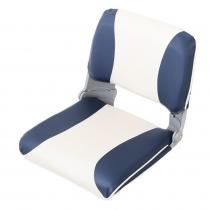 V-Quipment Crew Deluxe Lightweight Folding Seat Blue/White