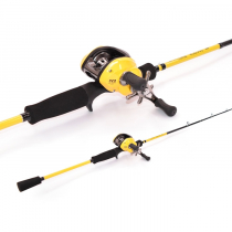 TiCA Tactica LCX100R and CNLB66MH2C Jig Combo 6'6'' 10-20lb 2pc