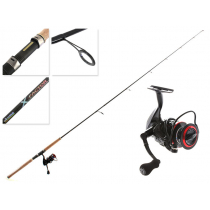 Okuma Ceymar 40 and X-Factor Spinning Combo with Braid 7ft 6-10kg 2pc with Braid